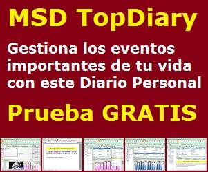 MSD TopDiary, tu mejor diario personal