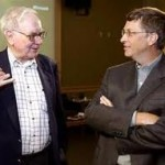 Bill Gates y Warren Buffet siguen aumentando los socios de The Giving Pledge