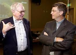 Bill Gates and Warren Buffet