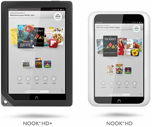 Nook HD de Barnes & Noble