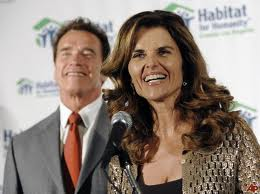 Arnold Schwarzenegger y María Shriver
