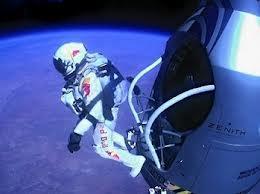 Felix Baumgartner salta al vacío