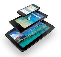 Dispositivos Nexus de Google