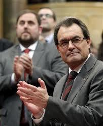 El Parlamento de Cataluña aprueba la declaración de soberanía