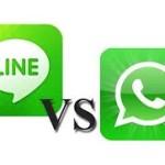 La aplicación japonesa LINE le come el terreno a la aplicación americana Whatsapp