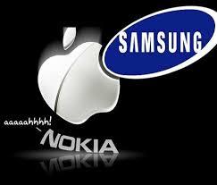 La finlandesa Nokia se alía con la americana Apple para atacar a la surcoreana Samsung