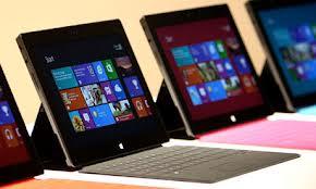 Las ventas de las tabletas Surface no son tan buenas como esparaba Microsoft
