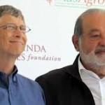 Los multimillonarios Bill Gates y Carlos Slim pretenden erradicar la poliomielitis en seis años