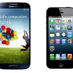 El Samsung Galaxy S4 le gana al iPhone 5 de Apple la batalla de mejor smartphone