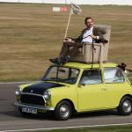 El coche de Mr Bean se va de rally