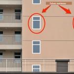 Dibujar ventanas para ahorrar en costes arquitectónicos