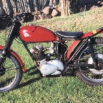 Recupera una moto robada hace 46 años